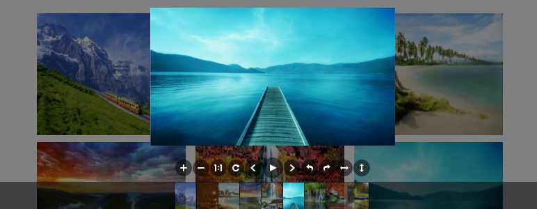 Awesome image viewer for WordPress