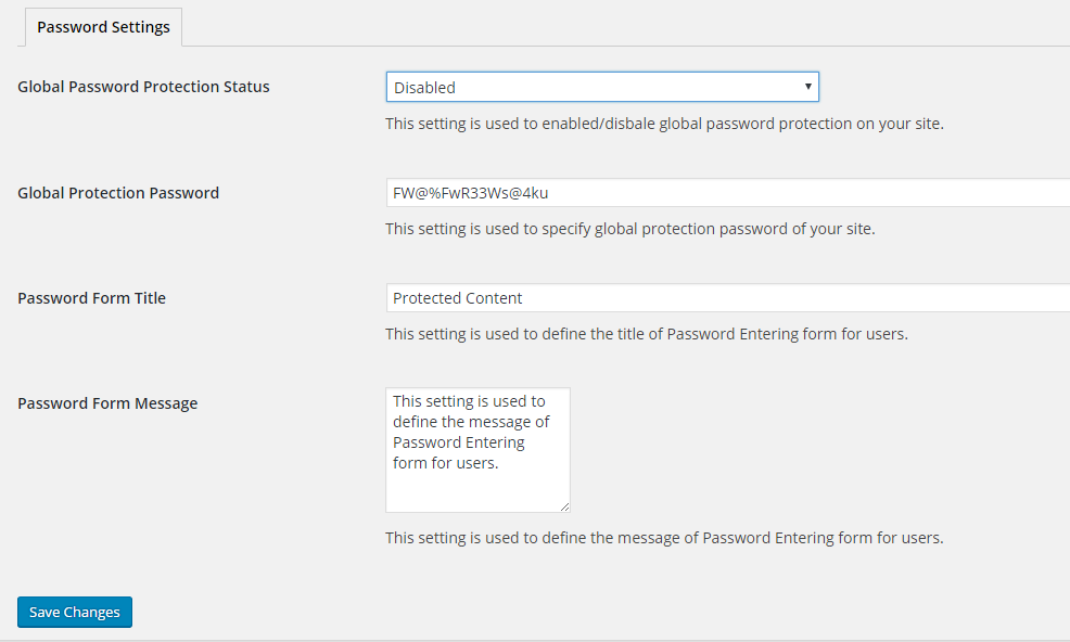 global-password-settings